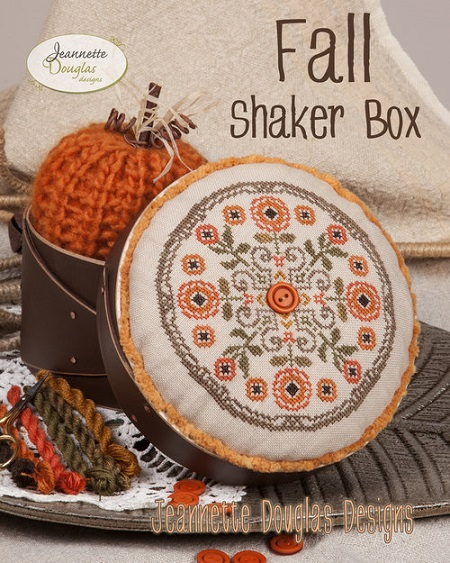 Fall Shaker Box - click here for more details about chart