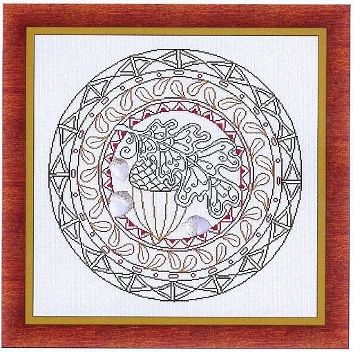 Autumn Mandala - click here for more details about chart