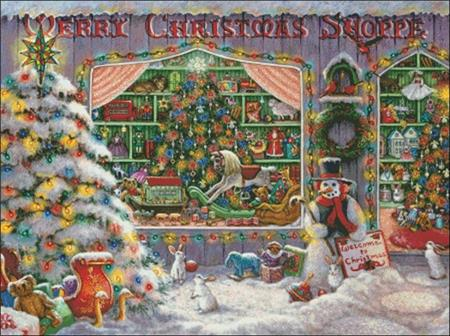 click here to view larger image of Merry Christmas Shoppe (chart)