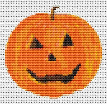 click here to view larger image of Mr Pumpkin (Mini Chart) (chart)