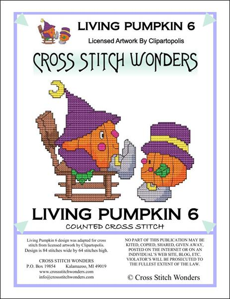 click here to view larger image of Living Pumpkin 6 (chart)