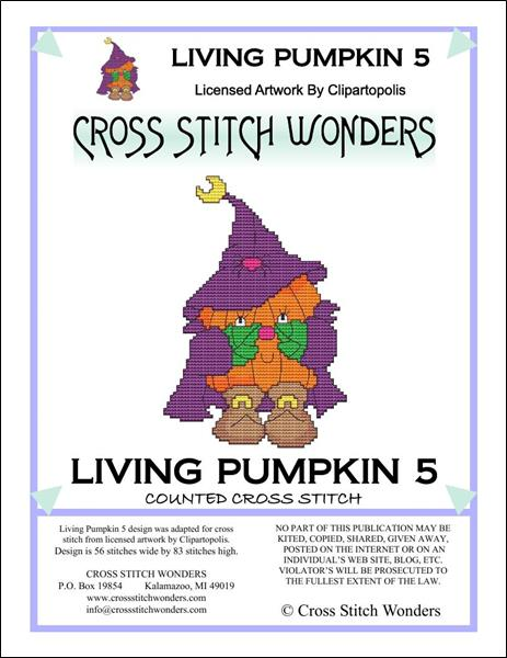 click here to view larger image of Living Pumpkin 5 (chart)