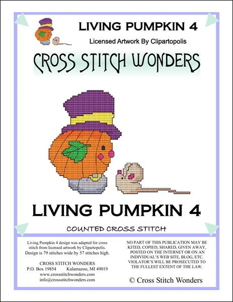 click here to view larger image of Living Pumpkin 4 (chart)
