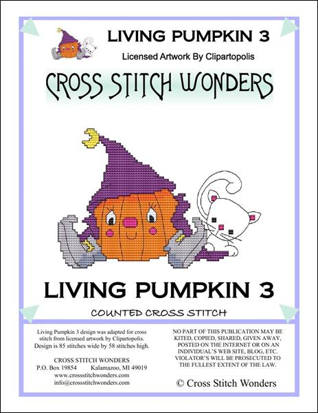 click here to view larger image of Living Pumpkin 3 (chart)