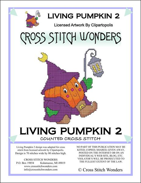 click here to view larger image of Living Pumpkin 2 (chart)