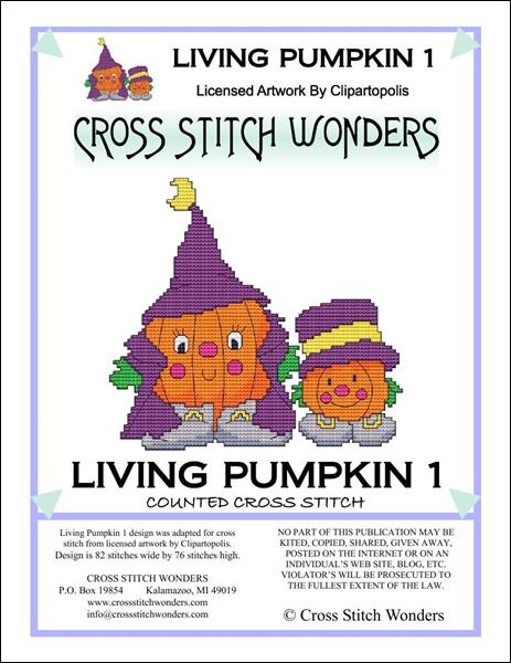 click here to view larger image of Living Pumpkin 1 (chart)