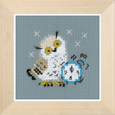 click here to view larger image of Alarm Clock (counted cross stitch kit)