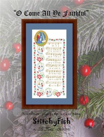 click here to view larger image of O Come All Ye Faithful (chart)