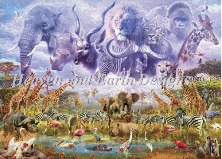 click here to view larger image of Mini Waterhole Guardians (chart)