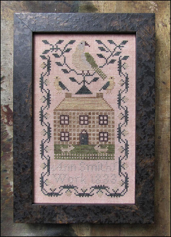 click here to view larger image of Miniature Quaker Sampler (chart)