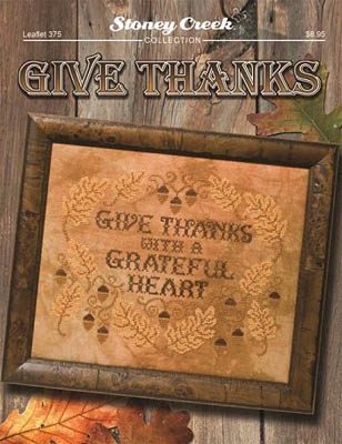 Give Thanks - click here for more details about chart