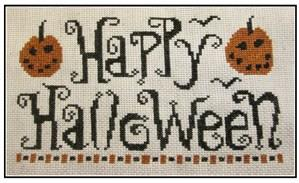 click here to view larger image of Happy Halloween (chart)