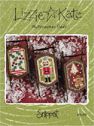 click here to view larger image of Nutcracker Sleds Snippet (Includes Embellishments) (chart)