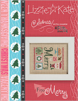 click here to view larger image of Celebrate! With Charm 2017 Flip-It - Merry (Includes Embellishment) (chart with charms/buttons)