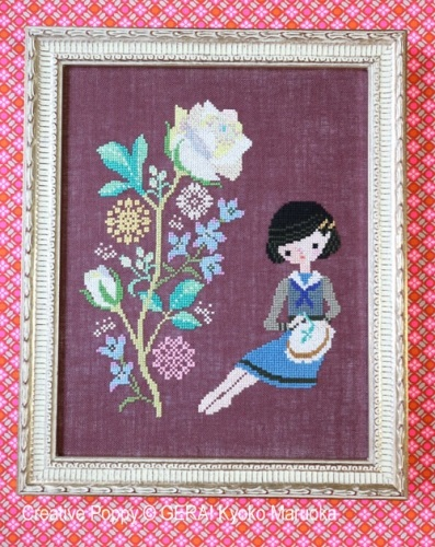 click here to view larger image of Roses Embroidery (chart)