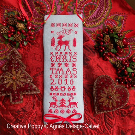 click here to view larger image of Reindeer Christmas Banner (chart)