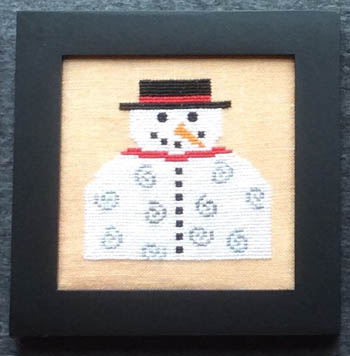 click here to view larger image of Home Decor - January Snowman (chart)
