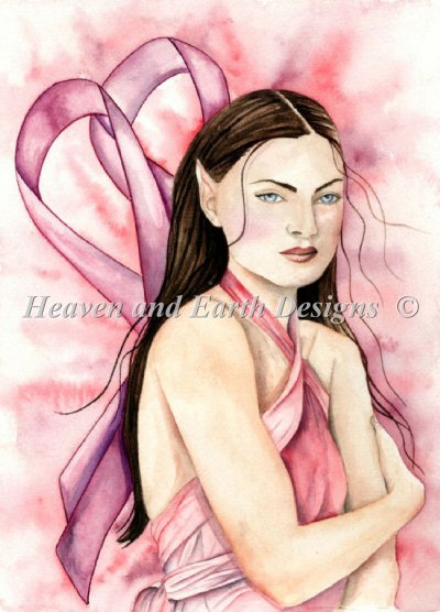 click here to view larger image of Mini Breast Cancer Fairy (chart)