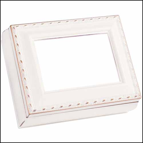 click here to view larger image of Ivory Rectangular Treasure Box (accessory)
