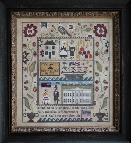 click here to view larger image of Heritage Sampler (chart)
