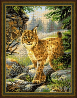 click here to view larger image of Forest Hostess (counted cross stitch kit)