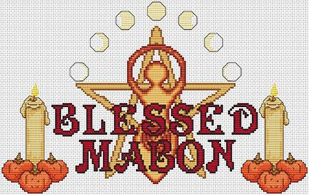 click here to view larger image of Blessed Series - Mabon (chart)