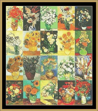 click here to view larger image of Tribute Series - Van Gogh (chart)