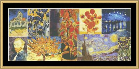 click here to view larger image of Tribute Series - Van Gogh II (chart)