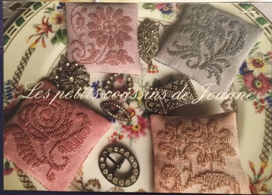 click here to view larger image of Les Petits Coussins de Jeanne (bead kit)