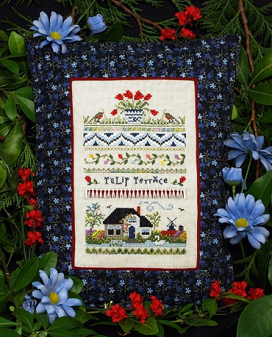 click here to view larger image of Tulip Terrace Sampler (chart)