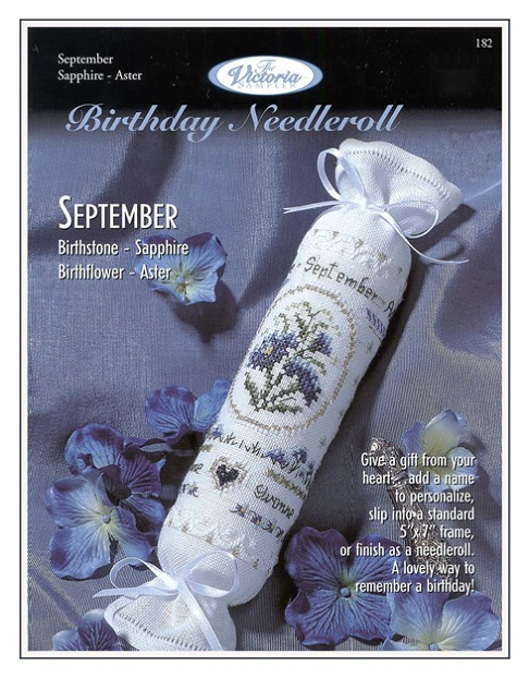 click here to view larger image of September Birthday Needleroll (chart)