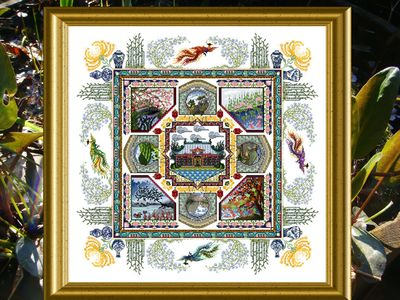 click here to view larger image of Chinese Garden Mandala, The (chart)