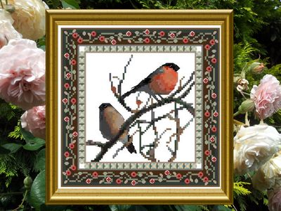 click here to view larger image of Bird Tapestries 1 - Bullfinch (chart)