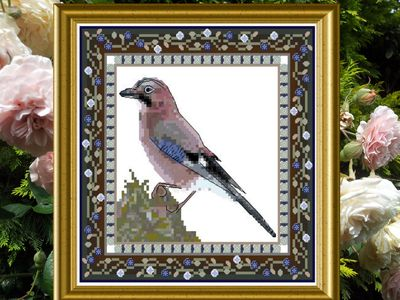 click here to view larger image of Bird Tapestries 2 - Jaybird (chart)