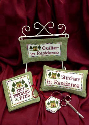 click here to view larger image of Quilter/Stitcher in Residence (chart)