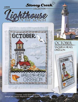 click here to view larger image of Lighthouse Of The Month - October (chart)