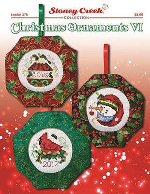 click here to view larger image of Christmas Ornaments VI (chart)