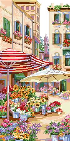 click here to view larger image of Flower Market (chart)
