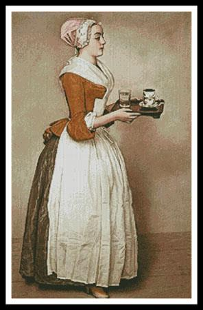 click here to view larger image of Chocolate Girl, The (Large) (chart)