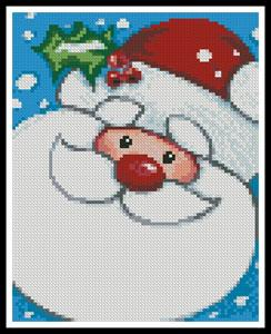 click here to view larger image of Mini Jolly Santa (chart)