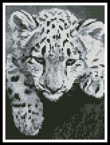 click here to view larger image of Mini Snow Leopard (chart)