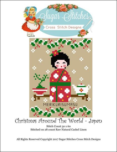 click here to view larger image of Christmas Around The World - Japan (chart)