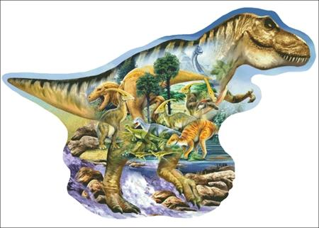 click here to view larger image of Dinosaur Collage (chart)