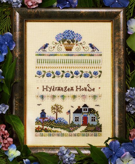 click here to view larger image of Hydrangea House Sampler (chart)