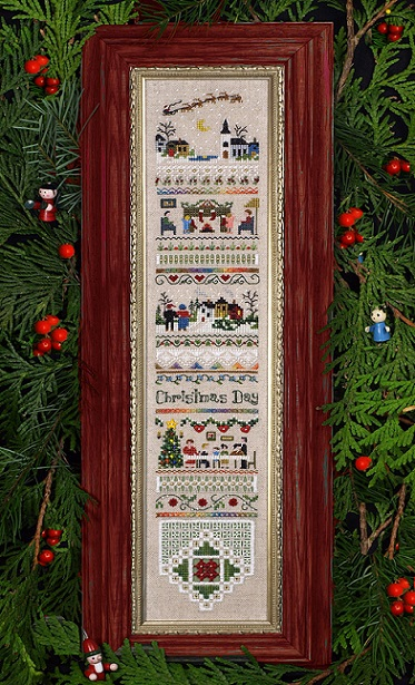 click here to view larger image of Christmas Day Sampler (chart)
