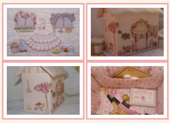 click here to view larger image of Needlewoman's Cottage, The (Faeries In My Garden) (chart)