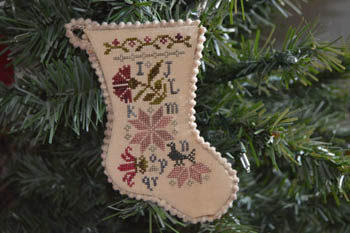 click here to view larger image of Sampler Stocking Ornament 2 (chart)