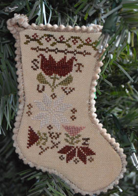 click here to view larger image of Sampler Stocking Ornament 3 (chart)