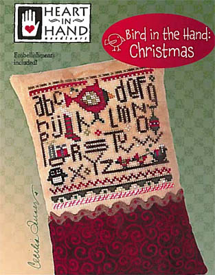 click here to view larger image of Bird In The Hand  Christmas (Includes Embellishments) (chart)