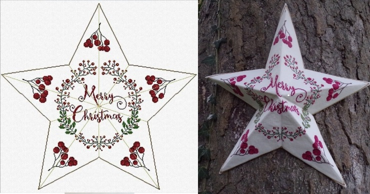 click here to view larger image of Christmas Star  (chart)